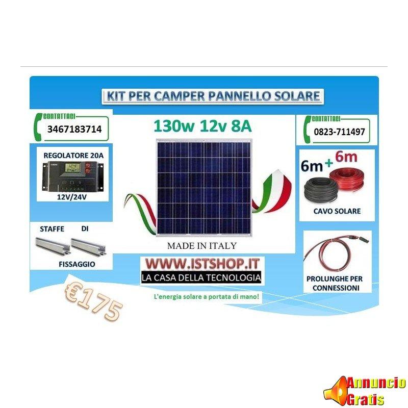 kit-pannello-solare-per-camper-140w