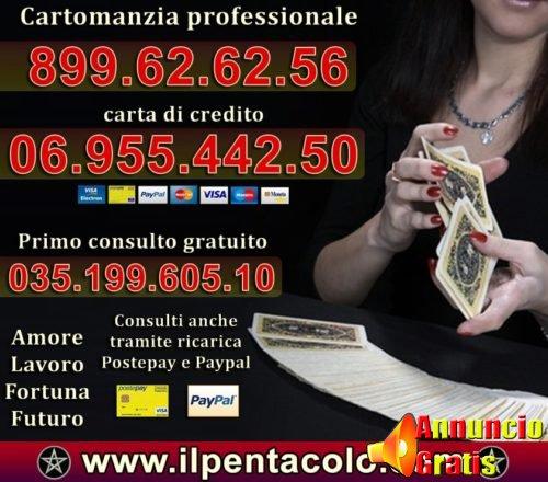 cartomanzia professionale consulto gratuito